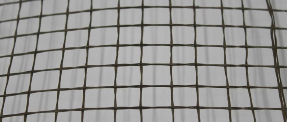 Basalt fiber geogrid mesh