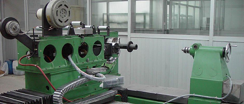 Prepreg tape filament winding machine