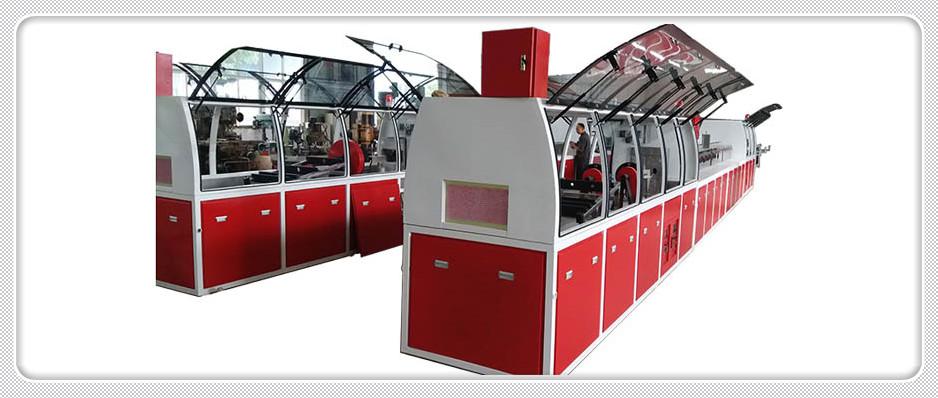Composite pultrusion machine