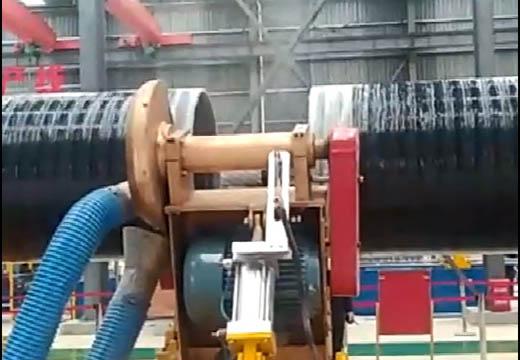 Continuous filament winding machine01