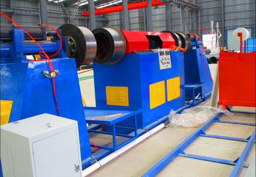 Continuous filament winding machine02