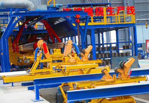 Continuous filament winding machine03