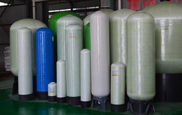 FRP water softening tank production(winding technology)