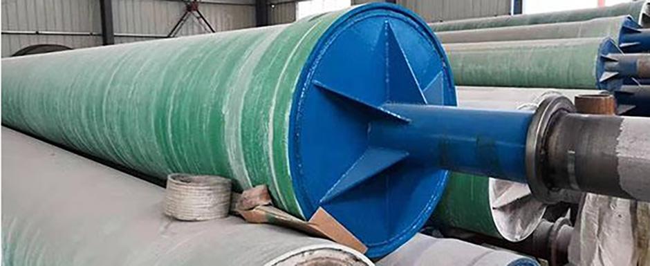 Fiberglass pipeline mould